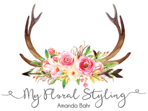 my floral styling logo